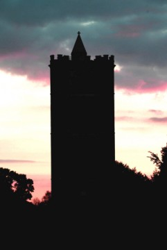 Tower in Silhouette