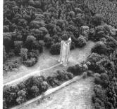 Aerial photo of Alfred's Tower
