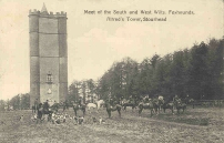 Foxhounds at Alfred's Tower